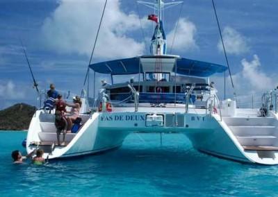 caribbean charter yacht pas de deux 12