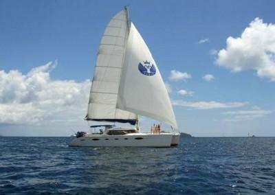 caribbean charter yacht pas de deux  17