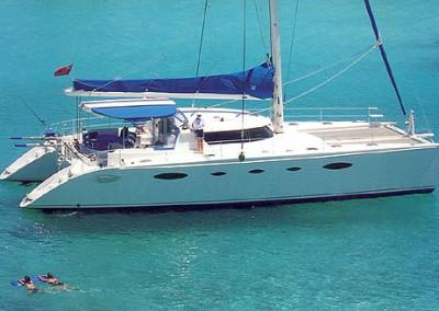 caribbean charter yacht pas de deux 4