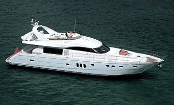 Crewed Yacht Charters in the Caribbean aboard Motor Yacht Le Reve 8