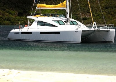 Luxury Yacht Charter in the Caribbean aboard Lady Dominique 6