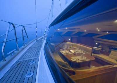 Luxury Yacht Charters aboard Tilly Mint 11