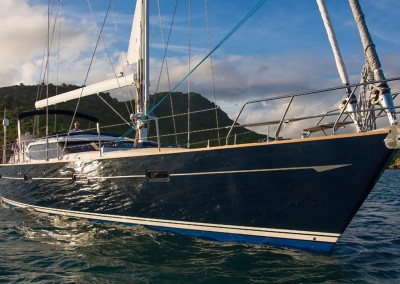 Luxury Yacht Charters aboard Tilly Mint in the Caribbean