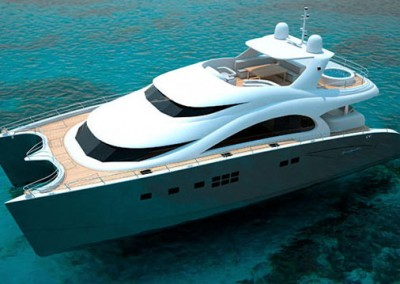 Luxury Yacht Sea Bass Available for charter in the Caribbean 11