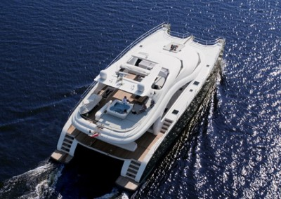 Luxury Yacht Sea Bass Available for charter in the Caribbean 16