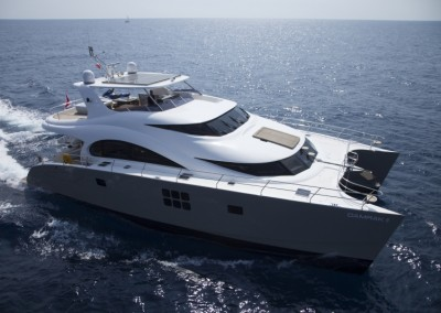 Luxury Yacht Sea Bass Available for charter in the Caribbean 20