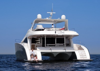 Luxury Yacht Sea Bass Available for charter in the Caribbean 3