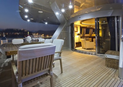 Luxury Yacht Sea Bass Available for charter in the Caribbean 7
