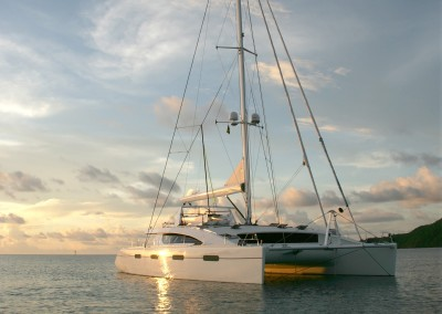 Luxury Yacht Charter in the British Virgin Islands aboard SY Akasha