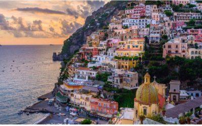 Cruising Italian Coastline